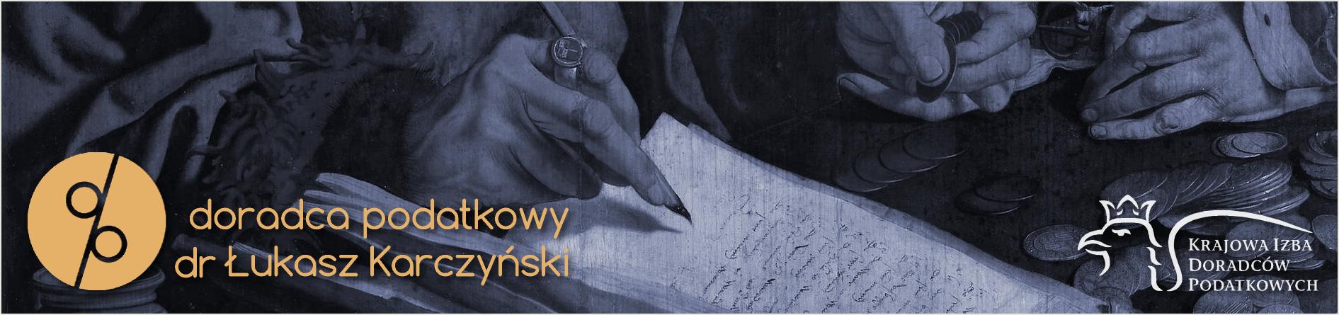 Doradztwo Podatkowe dr Łukasz Karczyński